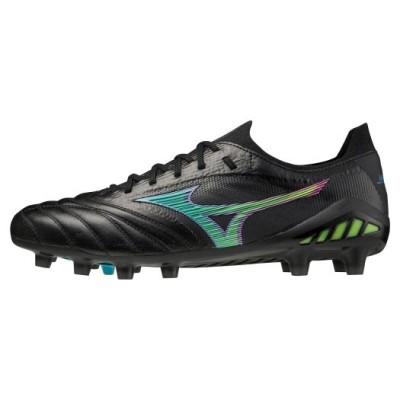 ミズノ メンズ モレリアネオIII β JAPAN(サッカー)[ユニセックス] 18ブラック×サックス 23.0 フットボール/サッカー シューズ P1GA2090