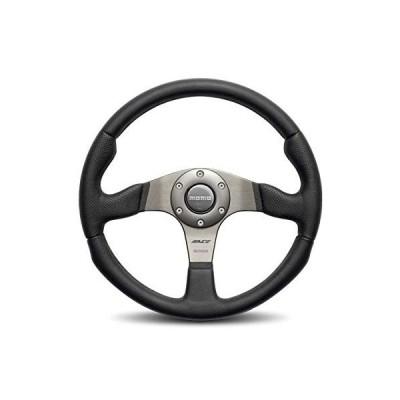 送料無料 Momo Race Brushed Aluminum 320 mm Diameter Steering Wheel P/N RCE32BK1