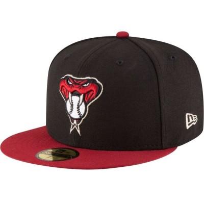 ニューエラ New Era メンズ キャップ 帽子 Arizona Diamondbacks 59Fifty Alternate Black Authentic Hat
