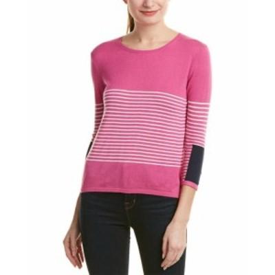 Kier + J キアアンドジェイ ファッション トップス Kier + J Sweater L Pink
