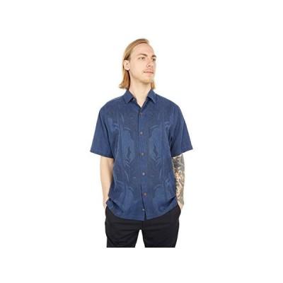 トミー バハマ Tahitian Border メンズ シャツ トップス Navy