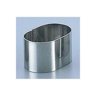 deBUYER(デバイヤー) WDB04 18-10ケーキリング小判型(3043-40)