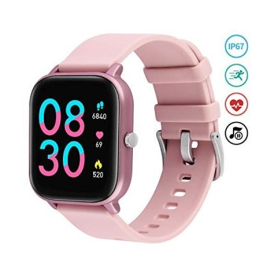 """Smart Watch for Women, Fullmosa 1.4"""" Touch Screen Fitness Tracker with Heart Rate Sleep Quality Counter, IP67 Waterproof Bluetooth Smartwatc"""