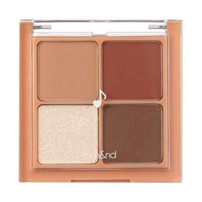 rom&nd BETTER THAN EYES Eyeshadow Palette 4色のアイシャドウパレット # M1 DRY apple blos