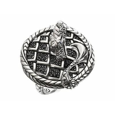 ジョン・ハーディー リング アクセサリー レディース Legends Naga Ring with Eyes Sterling Silver