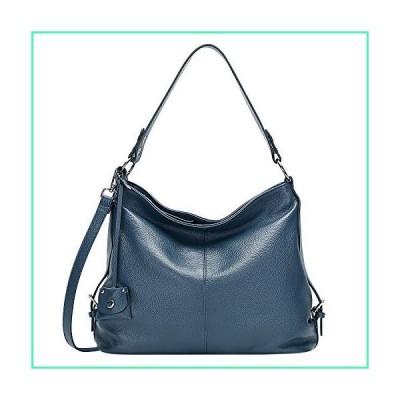 OVER EARTH Hobo Bags for Women Soft Leather Purses and Handbags Ladies Shoulder Crossbody Bag(O149E Indigo Blue)並行輸入品