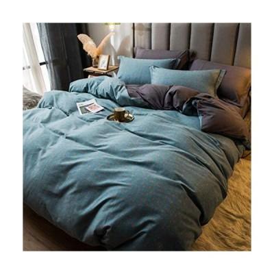 布団カバー 寝具カバーセット 4点セット 3点セット シングル ダブル 掛け布団カバー シーツカバー 枕カバー オ