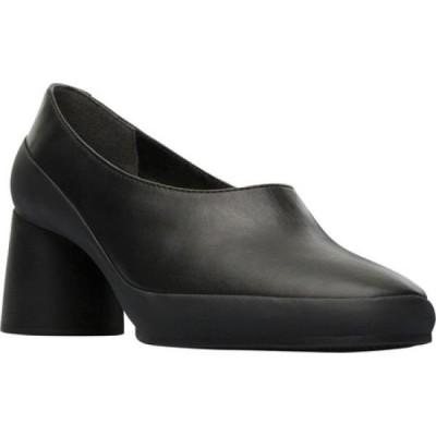 カンペール Camper レディース パンプス シューズ・靴 Upright Pump Black Smooth Leather