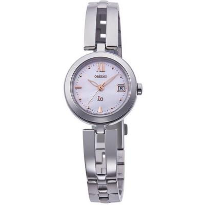 ORIENT オリエント クオーツ ライトチャージムーブメント RN-WG0003S イオ iO NATURAL&PLAIN レディース腕時計
