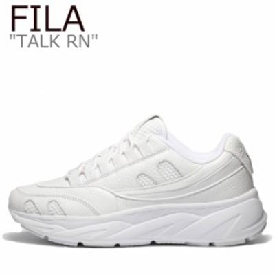 フィラ スニーカー FILA メンズ TALK RN トークRN WHITE ホワイト 1RM01161-125 シューズ