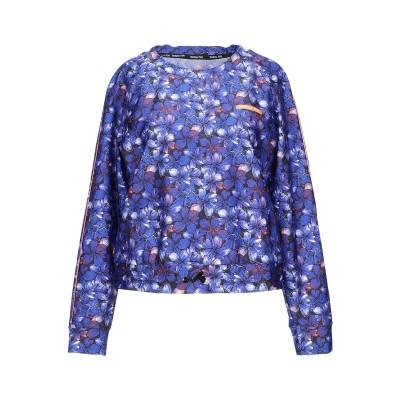 パトリツィア ペペ PATRIZIA PEPE T シャツ ブルー 0 ナイロン 80% / ポリウレタン 20% T シャツ