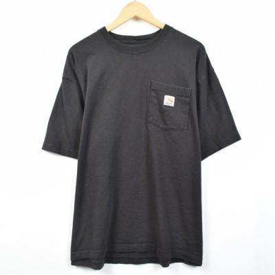 カーハート ワンポイントロゴポケットTシャツ XL /eaa033180