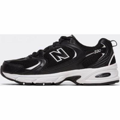 ニューバランス New Balance メンズ スニーカー シューズ・靴 MR530 Trainer Black/Black/White