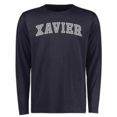 Fanatics Branded ファナティクス ブランド スポーツ用品  Xavier Musketeers Navy Everyday Long Sleeve T-Shirt