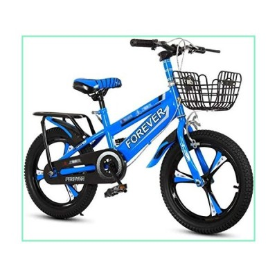 MGE Children Bicycle,Bicycles Kids Indoor Exercise Bike Child Pedal Bicycle Boy Child Bicycle 3~12 Years Old Children Bicycle Suitable for Kids (Color