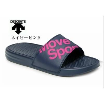 Move Sport シャワーサンダル DESCENTE(デサント)DS DM1LJE00 リゾートサンダル つっかけタイプ メンズ