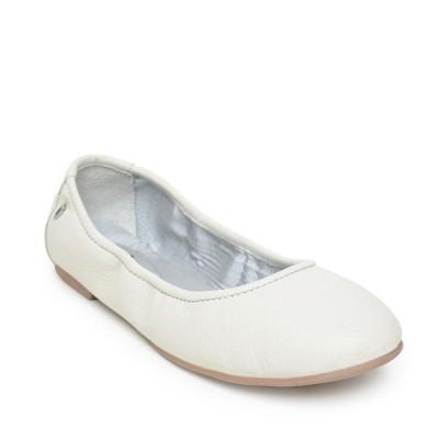 ミネトンカ レディース サンダル シューズ Anna Ballerina FLats White