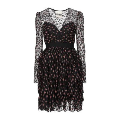 アニヤバイ ANIYE BY ミニワンピース&ドレス ブラック XS ナイロン 85% / レーヨン 8% / ポリウレタン 7% / ポリエステル