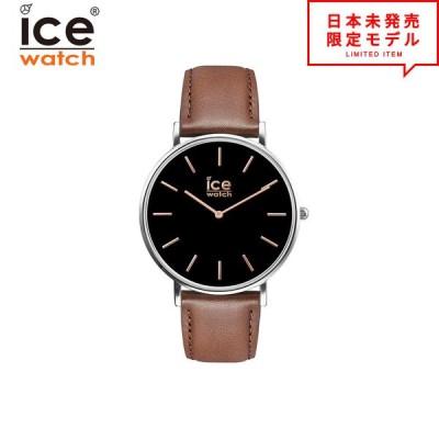 iceWatch アイスウォッチ メンズ 腕時計 リストウォッチ 016229 ブラック/ブラウン 海外限定 時計 日本未発売 当店1年保証 最安値挑戦中!