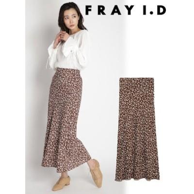 60%OFF FRAY I.D  フレイアイディー バイヤスナローフラワースカート  20春夏 FWFS201065 フレアスカート 追加