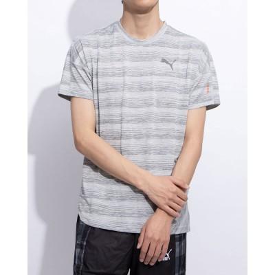 プーマ PUMA PUMA PACE SS Tシャツ (LIGHT GRAY HEATHER)