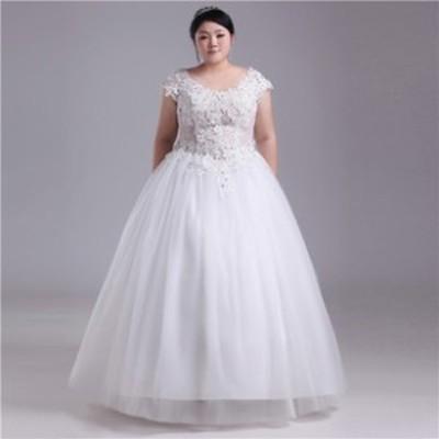 HS222 ウェディングドレス.ドレス.プリンセス.舞台ドレス.結婚式.演奏会.大きいサイズ.マタニティ ベール・グローブ・パニエ無料付き
