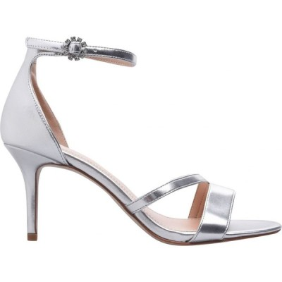 リネアペレ Linea レディース サンダル・ミュール シューズ・靴 Strap Mid Jewel Sandals Silver Metallic