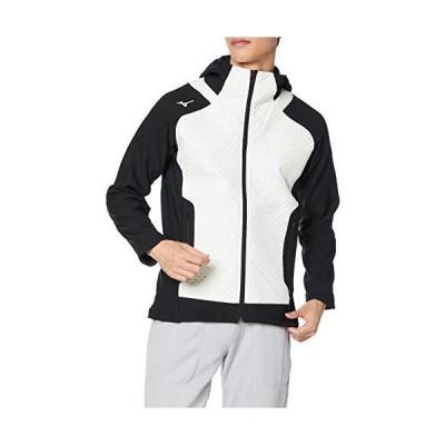 [ミズノ] トレーニングウエア ブレスサーモ ピンソニックジャケット 32ME0540 メンズ ホワイト 日本 M (日本サイズ