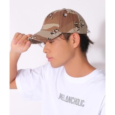 帽子 キャップ 【NEWHATTAN】カモフラベースボールキャップ NHN1400W