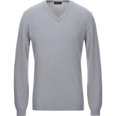 ロベルトコリーナ ROBERTO COLLINA メンズ ニット・セーター トップス cashmere blend Grey