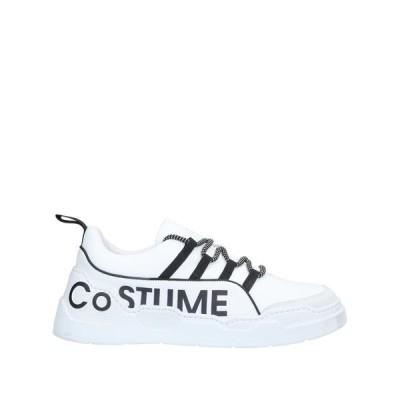 COSTUME NATIONAL HOMME スニーカー  メンズファッション  メンズシューズ、紳士靴  スニーカー ホワイト