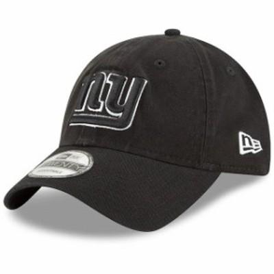 New Era ニュー エラ スポーツ用品  New Era New York Giants Youth Black Core Classic B-Dub 9TWENTY Adjustable Hat