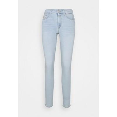リプレイ レディース デニムパンツ ボトムス NEW LUZ PANTS - Jeans Skinny Fit - light blue light blue