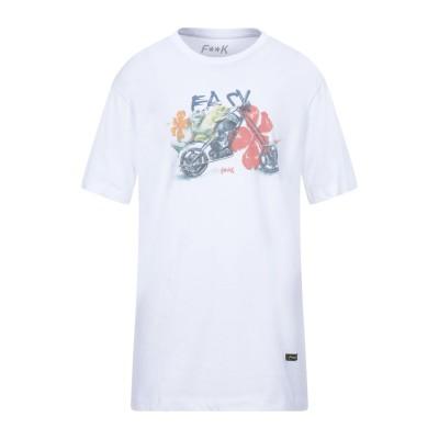 F**K PROJECT T シャツ ホワイト XL コットン 100% T シャツ