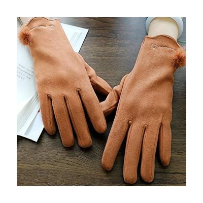 Uoyov and Winter Fashion China Leather Touch Screen Gloves Winter Women Plu