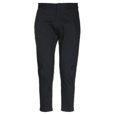 LOW BRAND パンツ ブラック 34 コットン 96% / ポリウレタン 4% パンツ