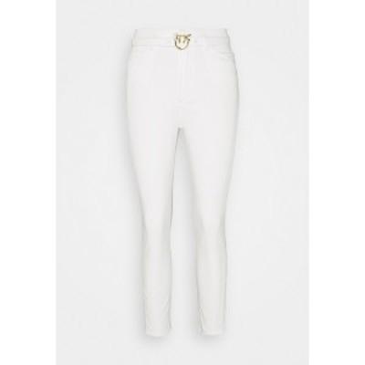 ピンコ レディース デニムパンツ ボトムス SUSAN BULL COMFORT - Jeans Skinny Fit - white denim white denim