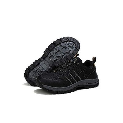 Hiking Shoes Men Waterproof Low Top Trekking Boots Breathable Non-Slip Sneakers for Trailing Trekking Walking【並行輸入品】