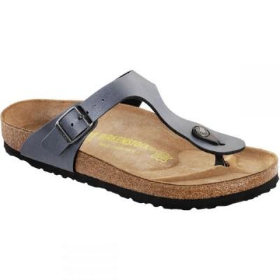 ビルケンシュトック Birkenstock レディース サンダル・ミュール シューズ・靴 Gizeh Sandal Onyx Birko Flor