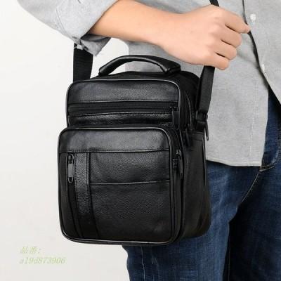 男性 メンズ ショルダーバッグ クロスボディバッグ メッセンジャー 革カバン鞄ビジネス 通勤
