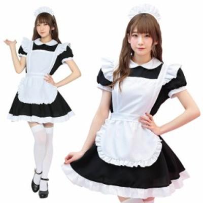 【ハロウィン コスプレ メイド】 TG シュガーメイド 衣装 仮装 かわいい 可愛い ハロウィーン パーティー コスチューム