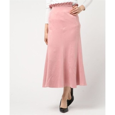 スカート スウェードタッチマーメイドスカート