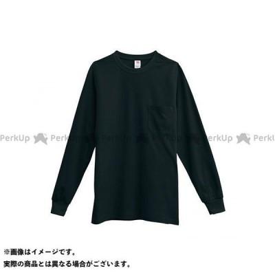 【無料雑誌付き】TS DESIGN カジュアルウェア 長袖Tシャツ(ブラック) サイズ:S TSデザイン