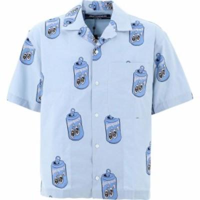 ジャックムス Jacquemus メンズ 半袖シャツ トップス Jean All-Over Shirt Light Blue