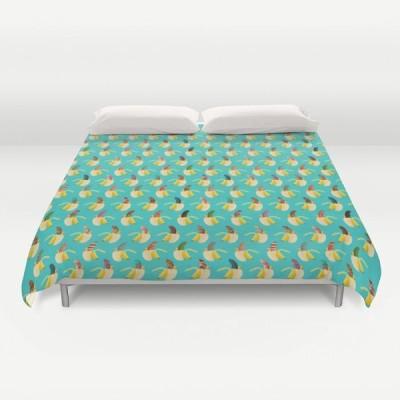 ソサエティシックス Society6 ブランド ベッド ベッドリネン bed linen ベッドカバー 掛け布団カバー - キングサイズ