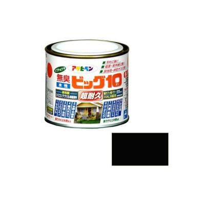 アサヒペン 水性ビッグ10 多用途 1/5L 205 黒