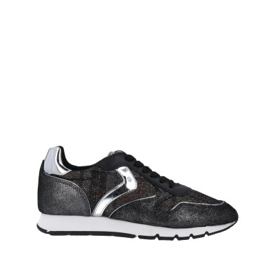 VOILE BLANCHE スニーカー&テニスシューズ(ローカット) ブラック 36 紡績繊維 スニーカー&テニスシューズ(ローカット)