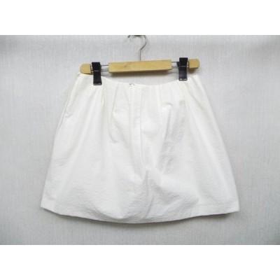 Spick and Span /スピック&スパン ★白ミニスカート 38サイズ 日本製 【中古】K18HO-H1