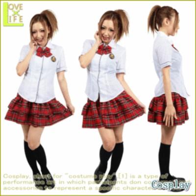 チェックリボン制服グラフィティ【制服】【2012年新作】もはや定番♪チェックがカワイイアイドル系制服♪いろんな場所でアイドルになりき