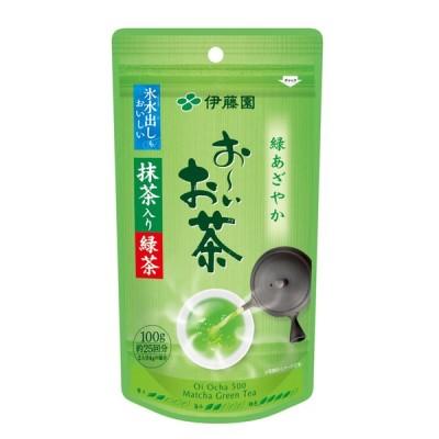 伊藤園 お〜いお茶抹茶入り緑茶100g